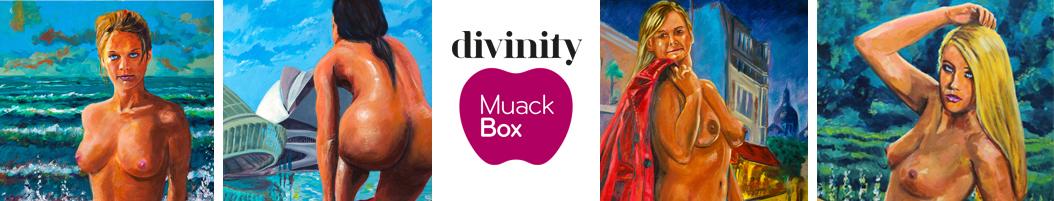 Retratos eróticos de Pictor Mulier para planes de MuackBox